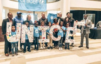 Best Elementary School students are celebrated for being on the UNICEF Kid Power Team