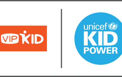 VIPKid joins UNICEF Kid Power team